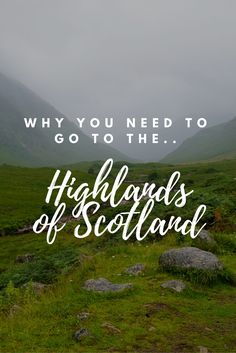 Why you need to go to the Highlands of Scotland! Such a beautiful place to travel, and don't forget the Isle of Skye! Tips, itineraries, Scottish castles and highland cows! Glencoe scotland scottish highlands and james bond skyfall make camping in scotland the best roadtrip!   ☆☆#Inspiredbymaps ☆☆