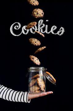 Chocolate cookies by Sonia Martín www.aquesabenlasnubes.com
