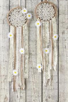 diy dream catcher large dream catcher kit, DAISY D - Dreams Catcher, Dream Catcher Kit, Doily Dream Catchers, Beautiful Dream Catchers, Large Dream Catcher, Dream Catcher Craft, Los Dreamcatchers, Diy And Crafts, Arts And Crafts
