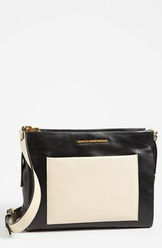 MARC BY MARC JACOBS 'Fold Them' Leather Crossbody Bag