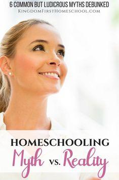 Homeschooling myth vs. reality - 6 common but ludicrous homeschooling myths debunked