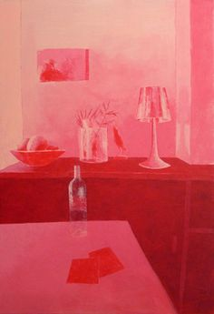 """Saatchi Art Artist Régine  La Fata; Painting, """"Chez Alice"""""""