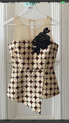 Cute batik top