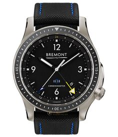 Bremont Boeing Model 1 GMT Titanium model-1-ti-gmt by Bremont Watches | Exquisite Timepieces