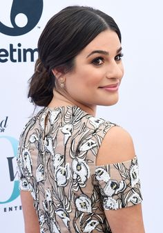 Lea Michele attends The Hollywood Reporter's Annual Women in Entertainment Breakfast