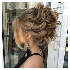 40 Most Delightful Prom Updos for Long Hair in 2017 ❤ liked on Polyvore featuring beauty products, haircare, hair styling tools and hair