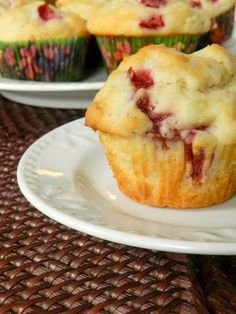 Fresh Strawberry Muffins.  Too much delicious.