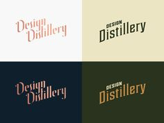 Design Distillery is rebranding! The team has landed on two final logo designs..   We'd love to hear what you all think and what your preference is! Any criticism or comments would be appreciated.