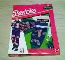VTG Barbie/ KEN Cloths # 9497 United Colors/Benetton- RACE CAR DRIVER (1990) NIB