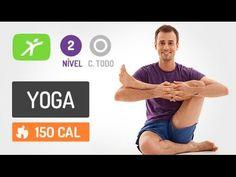 Aula de Yoga para Iniciantes - #2 - Para Melhorar o Condicionamento Físico