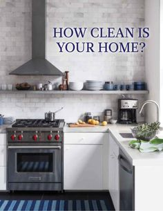 How Clean is Your Home? | Martha Stewart Living - Let's answer this question straight away: It's not as clean as you THINK it is. After the shelves have been dusted, the windows washed, and the floors have been swept, scrubbed, and mopped, there are still overlooked spots where grime is hiding. Do you know where they are?
