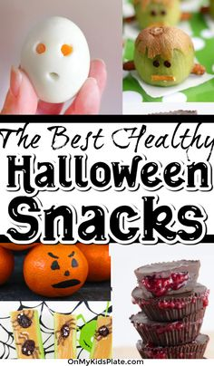 Looking to balance out your halloween party with a few healthy halloween party snacks? These fun and spooky treats and recipe ideas are perfect for a little Halloween fun! #halloweenparty #halloweenrecipe #kidsrecipe #diyhalloweenparty #appetizer #kidssnacks #partysnacks #partyrecipes