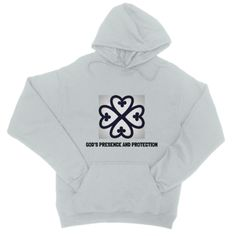 God's Presence and Protection College Hoodie
