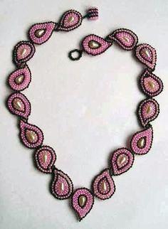 Pattern bijoux: Anello e Collana di perline