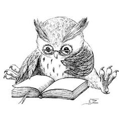 Adult Coloring Pages: Reading Owl Owl Always Love You, Wise Owl, Owl Art, Digi Stamps, Coloring Book Pages, Art Drawings, How To Draw Hands, Artsy, Sketches