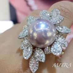 Gorgeous Ring @yokolondonpearls !!