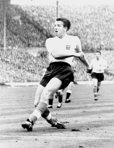 Peter Broadbent of England in England International, England National, England Football, National Football Teams, Vintage Football, Team Player, Coming Home, Wallpapers, Running
