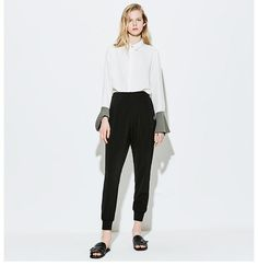 Perfect comfortable pants from VING. Available in Black and OrangeDescription:Style: FashionPattern Type: SolidDecoration: PocketsWaist Type: MidFront Style: Fl Jean Skirt, Trousers, Pants, Jeans Style, Pencil, Normcore, Clothes For Women, Trending Outfits, Fall