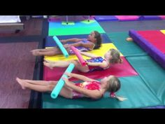 4-6 yr old fitness and tumble class