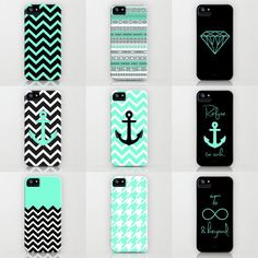 Tiffany Turquoise iPhone cases by RexLambo ($35)