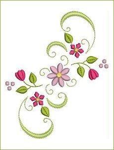 Decorative Florals - Allsorts Embroidery | OregonPatchWorks