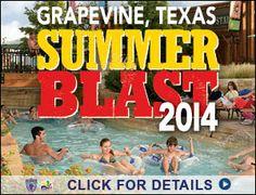 Summer Fun Grapevine Tx! #GVSummerBlast