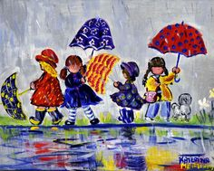 Discover and Buy Canadian Art Online. Affordable Original Artwork Including Paintings, Mixed Media, Photography by Emerging and Established Artists. Paintings I Love, Cross Paintings, Umbrella Art, Surreal Photos, Pretty Drawings, Canadian Art, Happy Art, Naive Art, Acrylic Art