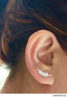 Little leaf earring - LadyStyle