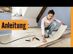 Klick-Vinyl verlegen   HORNBACH Meisterschmiede - YouTube