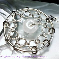 Pendant - Volans (Japanese 1in1 Chainmaille Weave)