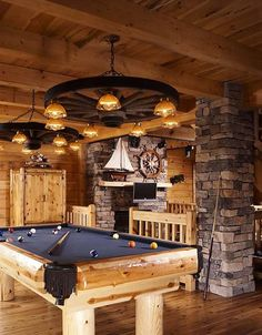 Billiards Room | fabuloushomeblog.comfabuloushomeblog.com