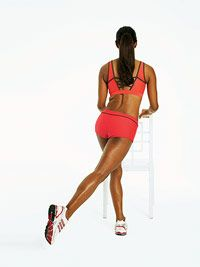 Love Your Lower Body in 4 Moves-Get slim thighs, gorgeous glutes, and legs for days with these 4 simple lower-body exercises.