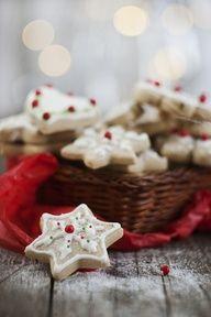 Merry Christmas | www.myLusciousLife.com - Snowflake Cookies