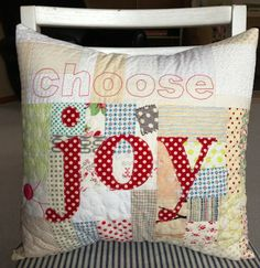 crazy mom quilts: choose joy