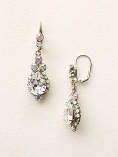 Sweet Treats Earring in White Bridal - Sorrelli