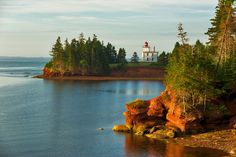 Montgomery Who Wrote Anne of Green Gables: Prince Edward Island, Canada, where L. Montgomery who wrote Anne of Green Gables was born and the setting for the book Fall Vacations, Dream Vacations, Vacation Spots, Vacation Ideas, Prince Edward Island, Lonely Planet, Best Places To Travel, Places To See, Anne Auf Green Gables