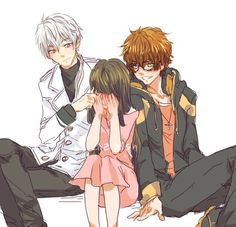 zen, 707, and mystic messenger image