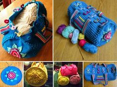 Mermoz Round Crochet Bag Is A Free Pattern