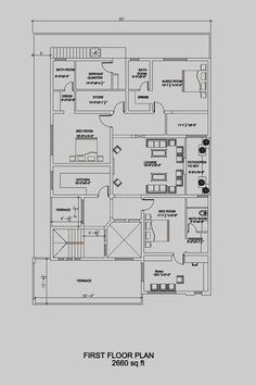 6 marla house plan 30 39 42 39 modern house plan house for Plot plan drawing software