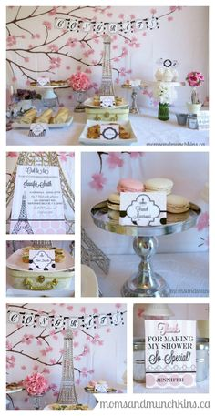 Paris Bridal Shower Ideas I love this wedding shower party decor idea. Such a fun vintage inspiration and invitation. French Bridal Showers, Paris Bridal Shower, Bridal Lingerie Shower, Chic Bridal Showers, Bridal Shower Party, Bridal Shower Decorations, Bridal Shower Invitations, Invites, Bride Shower