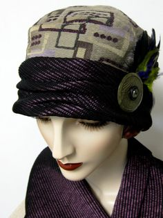 1920's Retro Tapestry Cloche. $94.00, via Etsy.