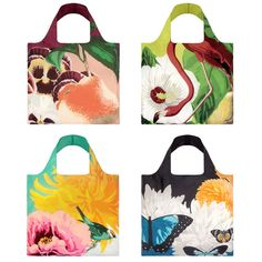 Botany Collection Set Of 4 bags by Loqi. » These are nice, I have only ever used envirosax. Have you used these bags? Do you like them?