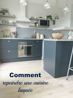 comment repeindre une cuisine laquée? les étapes pas à pas pour le relooking de vos meubles laqués DIY sur www.homebymarie.com