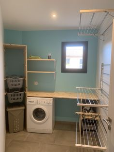 Pantry Laundry Room, Laundry Room Layouts, Laundry Room Remodel, Basement Laundry, Basement Storage, Laundry Room Design, Utility Room Designs, Landry Room, Drying Room