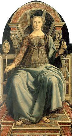 Piero del Pollaiuolo, Prudence, 1469-70, Florence, Uffizi