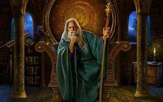 """""""Vrăjitorii din mitologia românească. Conform dicţionarului limbii române, solomonarul este un """"magician"""", care după credinţele populare, are puterea de a provoca sau stăpâni anumite fenomene naturale (ploaie, grindină, etc.): prin..."""""""