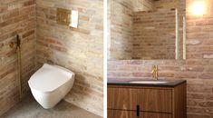 Ny villa i Farum Facade, Villa, Bathtub, Architecture, Red, Inspiration, Standing Bath, Arquitetura, Biblical Inspiration