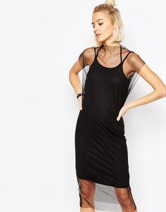 Cheap Monday | Cheap Monday Mesmerize Sheer Dress at ASOS