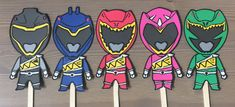 Power Rangers Dino Charge Party Centerpiece by CelebrationBee