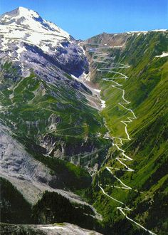 Italy:  While Stelvio Pass is only the second highest paved mountain pass in the Alps at 9045 feet, its passages are much more precarious.